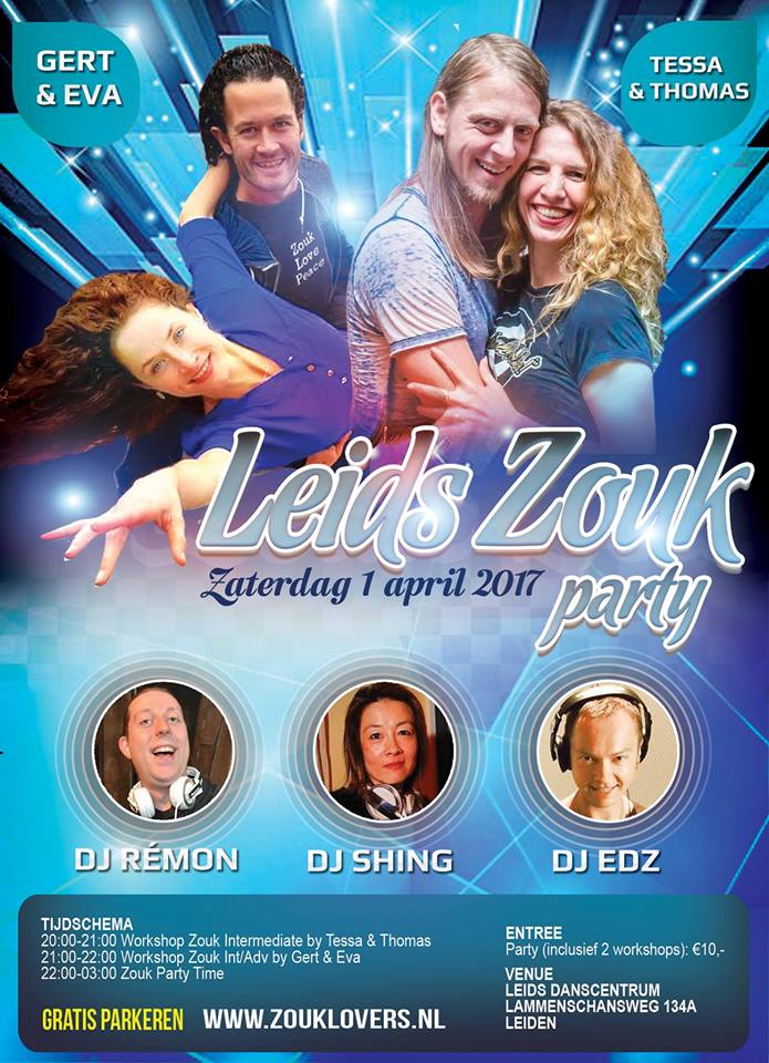 Leids Zouk Party 1 April 2017